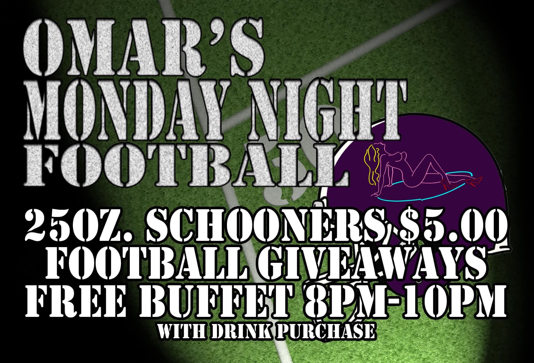 Omar's Monday Night Football