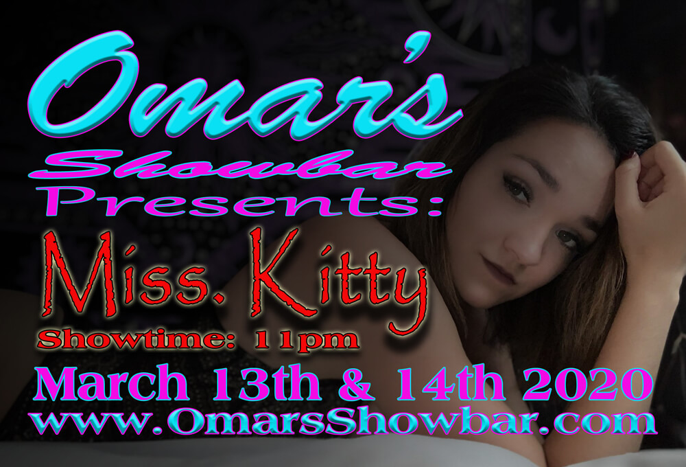 Omar's Showbar Presents: Miss. Kitty